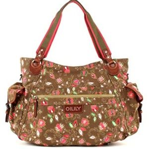 NWT Oilily Dunga Baby Bag Coffee - Wickeltaschen